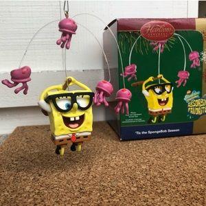 Spongebob Squarepants Jellyfishing Ornament